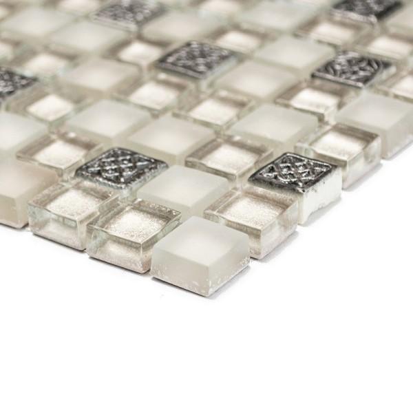 Mosaik Kristall Natursten Champagne | Ekosten.se