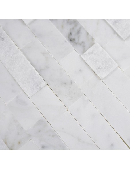 Självhäftande Mosaik Natursten Marmor Carrara | Ekosten.se
