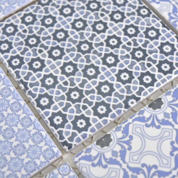 Keramik Marockansk Mosaik Classico Blå   Ekosten.se