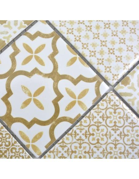 Keramik Marockansk Mosaik Pronto Warm Beige   Ekosten.se