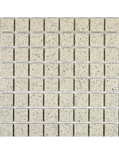 Mosaik Klinker Beige Prickig Matt | Ekosten.se