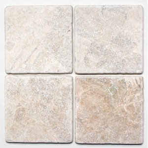 Botticino Antik Marmor Natursten Plattor 15x15x1cm