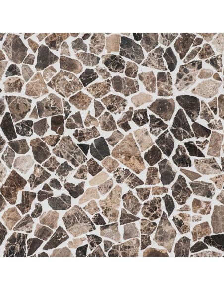 Emparador Marmor Krossmosaik Brun