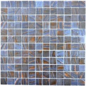 Eco Glas Mosaik Brons Oxid