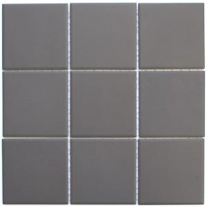 Klinker Mosaik Brun Matt