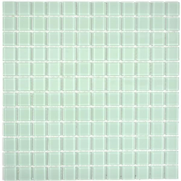 Ljusgrön Kristall Mosaik Lightgreen