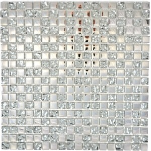 Kristall Mosaik Mix Silver