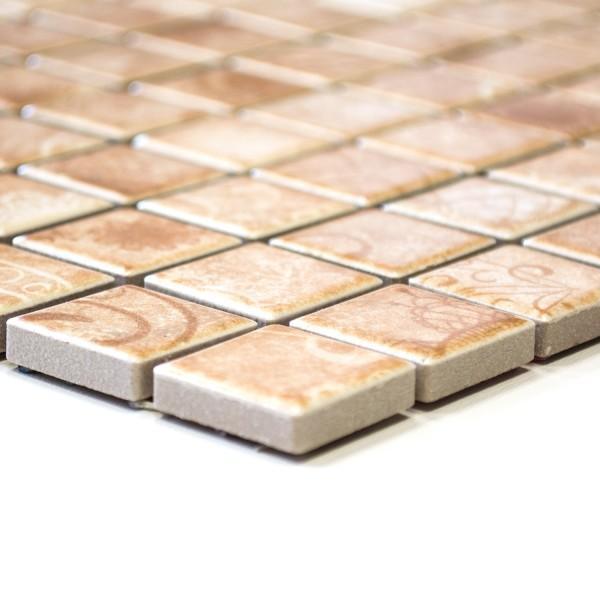Beige Klinker Mosaik Laceo