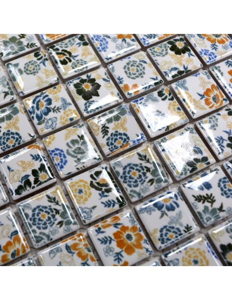 Spring Flower Keramik Mosaik