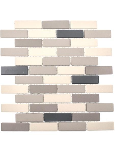 Murförband Granitkeramik Mosaik Matt