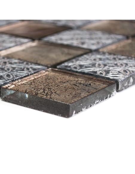 Resin Glas Mosaikmix Struktur