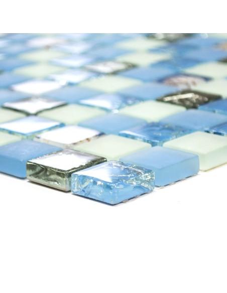 Kristallmosaik Mussla Blå Freeze Mix