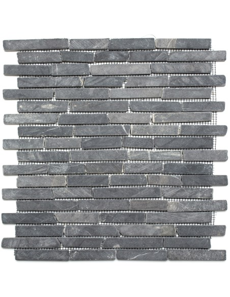 Marmor Stavmosaik Nero Marquina