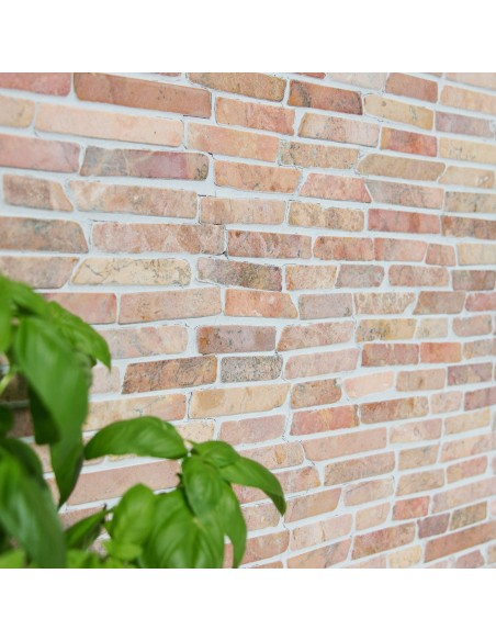 Stavmosaik Natursten Marmor Rosso Verona