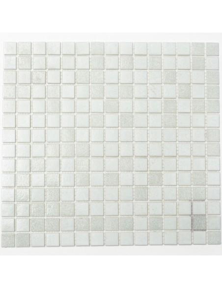 Mosaik Glas Plattor Vit Mix