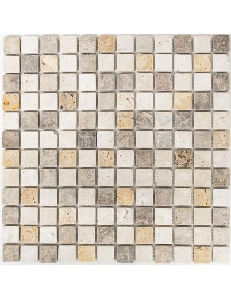 Natursten Travertin Mosaikmix Antik