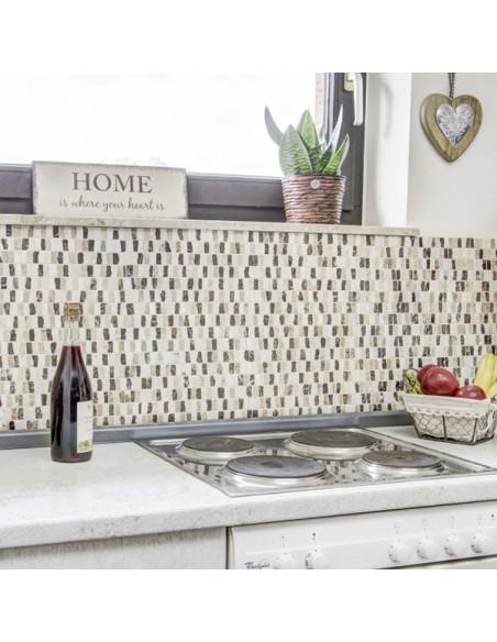 Marmor Brickmosaik Beige Creme Mix | Ekosten.se