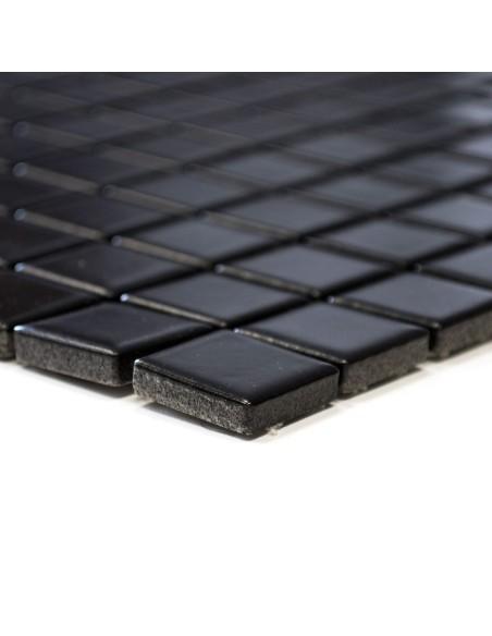 Svart Klinker Mosaik Matt 23x23mm