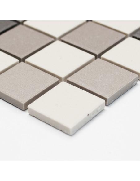 Granitkeramik Mosaikmix Matt 25x25mm