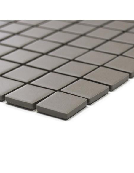 Grå Klinker Mosaik Matt 25x25mm | Ekosten.se