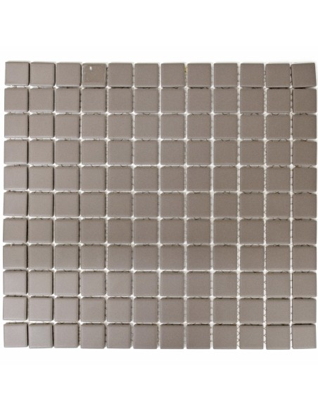 Grå Granitkeramik Mosaik Matt 25x25mm