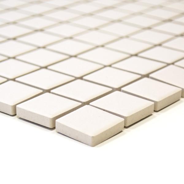 Beige Granitkeramik Mosaik Matt 25x25mm