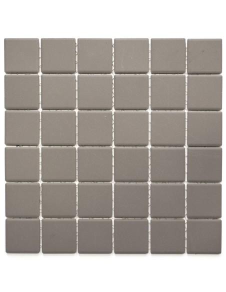 Grå Granitkeramik Mosaik Matt