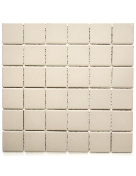 Beige Granitkeramik Mosaik Matt