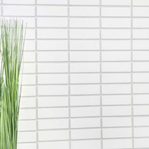 Stavmosaik Keramik Vit Blank | Ekosten.se