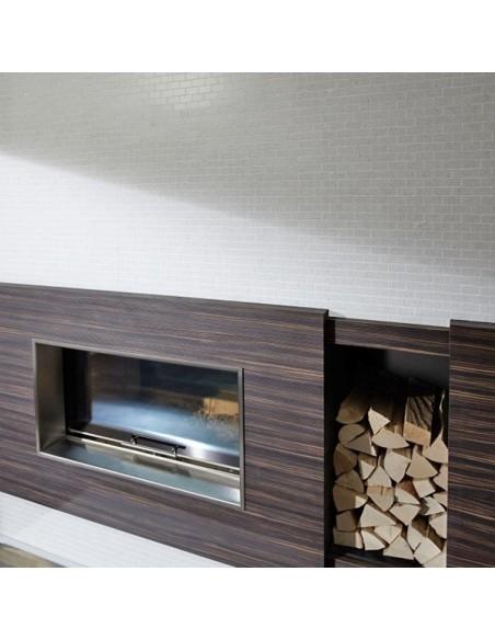 Komposit Brickmosaik Murförband Vit