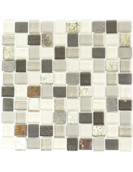 Rustik Kristall Natursten Mosaik Mix