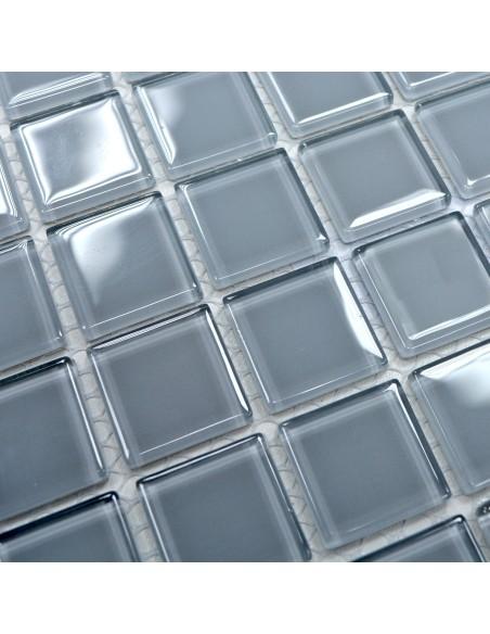 Kristall Glasmosaik Ljusgrå | Ekosten.se