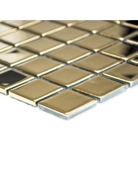 Guld Kristall Glasmosaik Blank   Ekosten.se