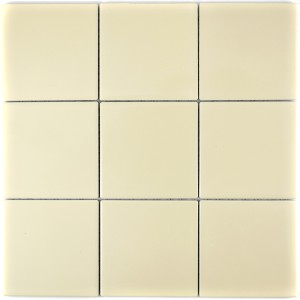 Keramik Mosaik Beige Blank