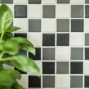 Klinker Mosaik Mix Halkdämpande