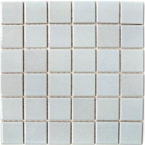 Retro Keramik Mosaik Mönstrad Grå