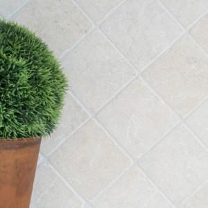 Marmor Natursten Botticino Antik 10x10cm