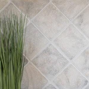 Vit Antik Marmor Natursten Ibiza Tumlad 10x10cm