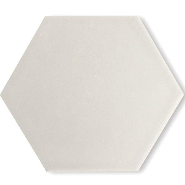 Klinker Golvplattor Twist Hexagon Vit   Ekosten.se